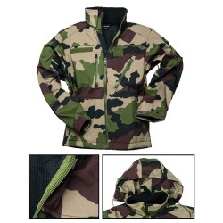 Blouson Softshell Miltec Camouflage CE 01