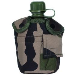 Gourde Quart Housse Mil-tec Camouflage CE 01