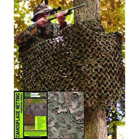 Filet Mil-tec Camouflage 6X3m Woodland 01