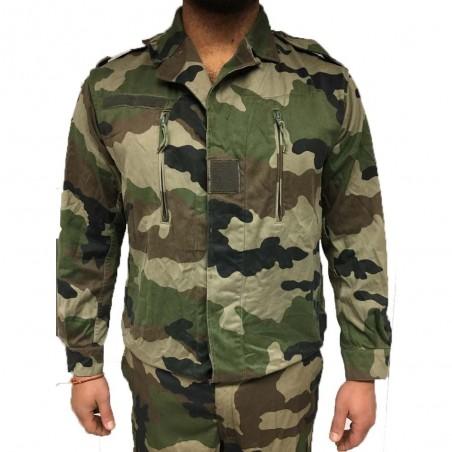 Veste Treillis Déclassée F2 Camouflage CE 01