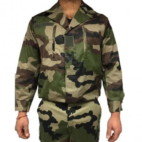 Veste De Treillis F2 Camouflage CE 01