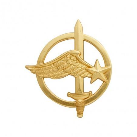 Insigne De Béret Commando De L'Air Or 01