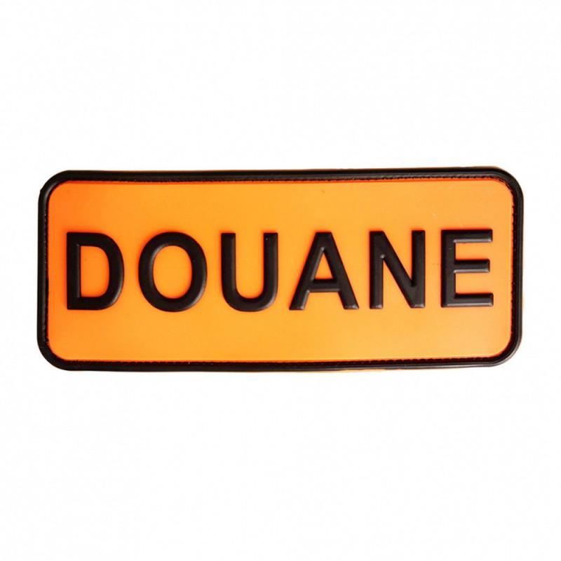 Brassard PVC Douane 01