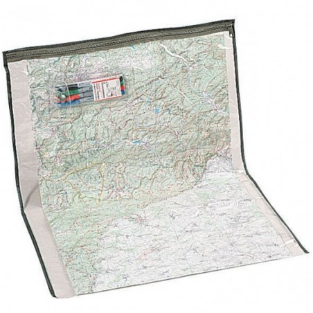 Porte-carte Militaire Topographie T.O.E transparent 01