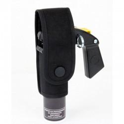 Porte-aérosol anti-agression 300 ml avec poignée Noir/Cam.-1
