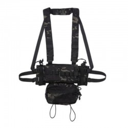 Micro Chest Rig Modulaire Châssis Avant 02