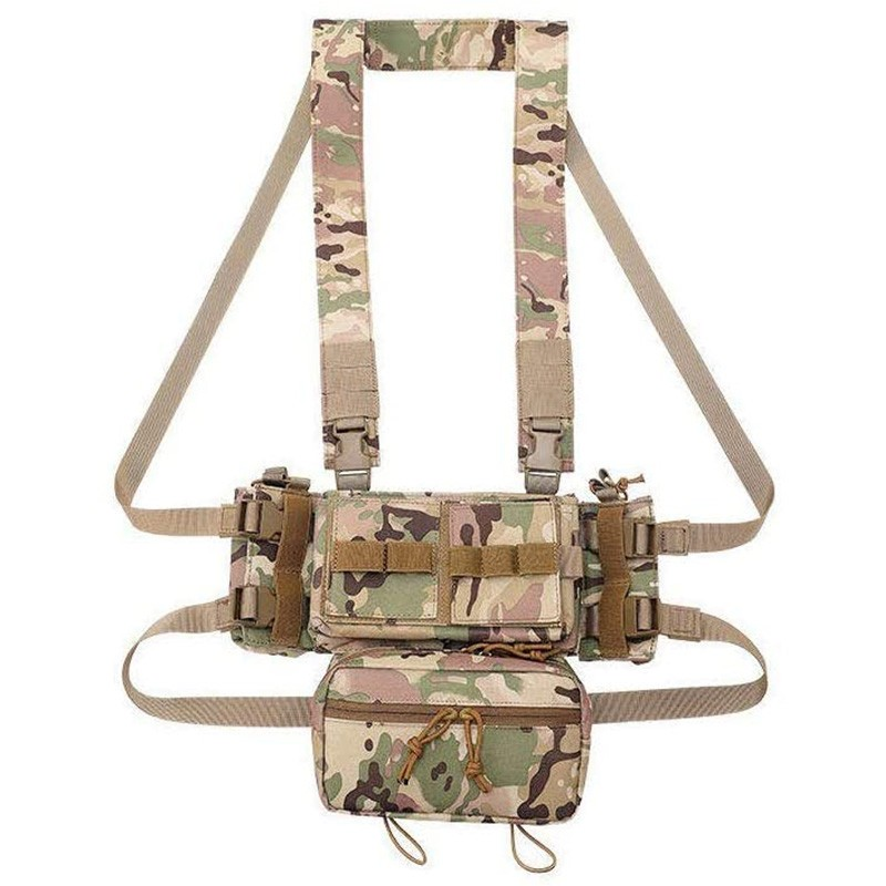 Micro Chest Rig Modulaire Châssis Avant 04