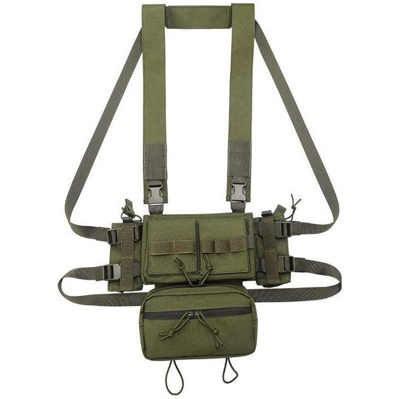 Micro Chest Rig Modulaire Châssis Avant 03