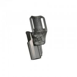 Holster Glock 17 / 22 / 31 Gen 1 à 5 Hanche droitier 360 Rotation 03