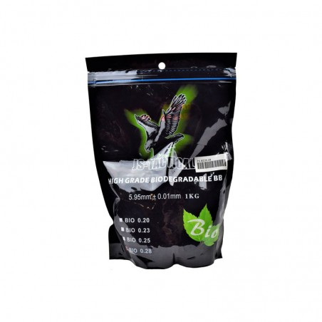 Billes Airsoft JS Tactical Biodégradables 0,28g 01