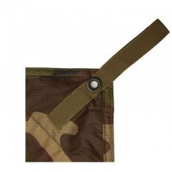 Dernière Génération Bâche Militaire T.O.E 3x3m Camouflage CE 02