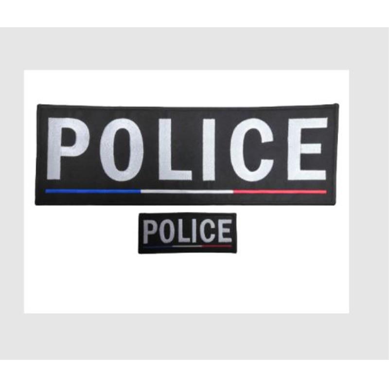 Jeu de Bande Police Brodées France