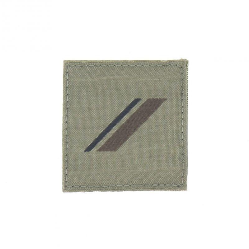 Ecusson Grade Militaire ADT Basse Visibilité 01