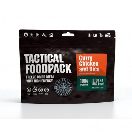 Tactical FoodPack Riz et Poulet au Curry 01