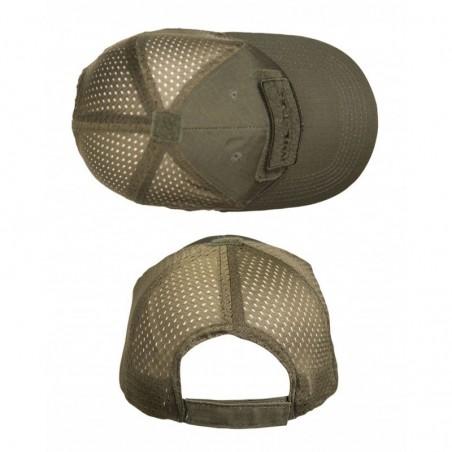 Casquette Tactique Mil-Tec BaseBall Vert Od 01