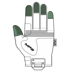 Gants Coqués de Mechanix Wear M-Pact 3 Tan 02