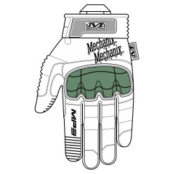 Gants Coqués de Mechanix WearM-Pact 3 Tan 03