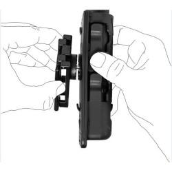 Porte-Bâton Rotatif 8VP60 De Vega Holster Noir Pour Ceinture/Ceinturon 02