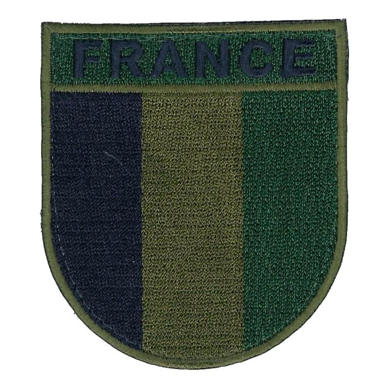 Écusson France Basse Visibilité De T.O.E Brodé 01