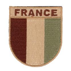 Écusson France Désert De T.O.E Brodé 01