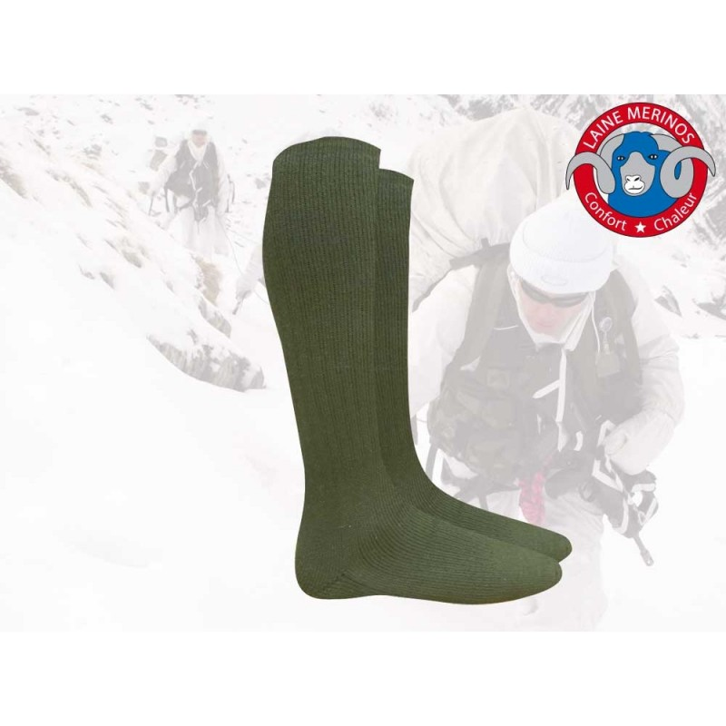 Chaussettes En Laine Mérinos Artica Trek Mi-Bas Vert 01