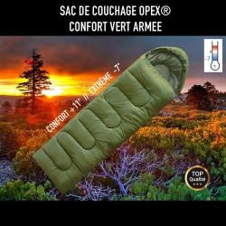 Sac De Couchage Opex Confort Vert Armée 01
