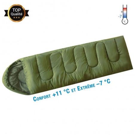 Sac De Couchage Opex Confort Vert Armée 02