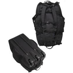 Sac de Transport Miltec Commando 120 litres à roulettes Noir / Vert 04