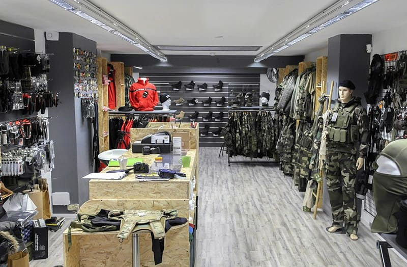 Magasin surplus militaire